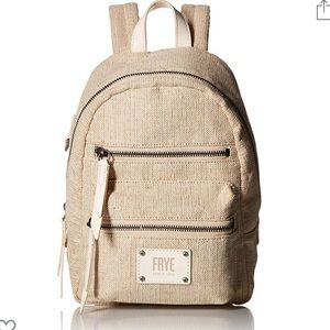 Frye Ivy Mini Backpack Off White